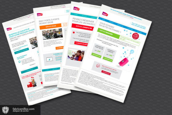 SNCF Newsletters