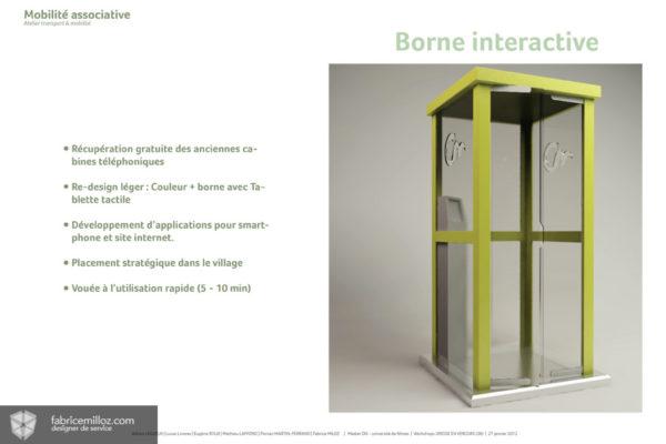 Borne interactive