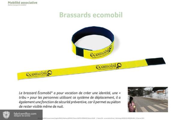 Brassard ecomobile